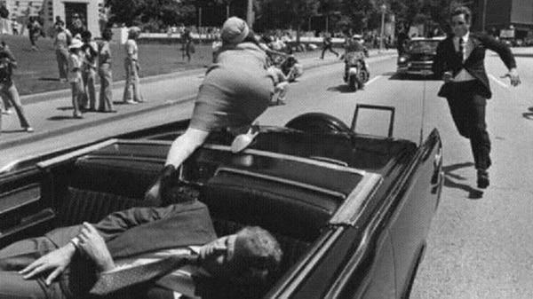 El momento de la muerte de Kennedy en Dallas el 22 de noviembre de 1963