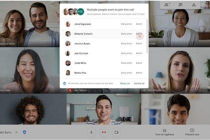 05/11/2020 Videollamada de Google Meet. POLITICA INVESTIGACIÓN Y TECNOLOGÍA GOOGLE OFICIAL