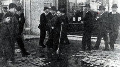 La sangre en las calles de Buenos Aires en 1919