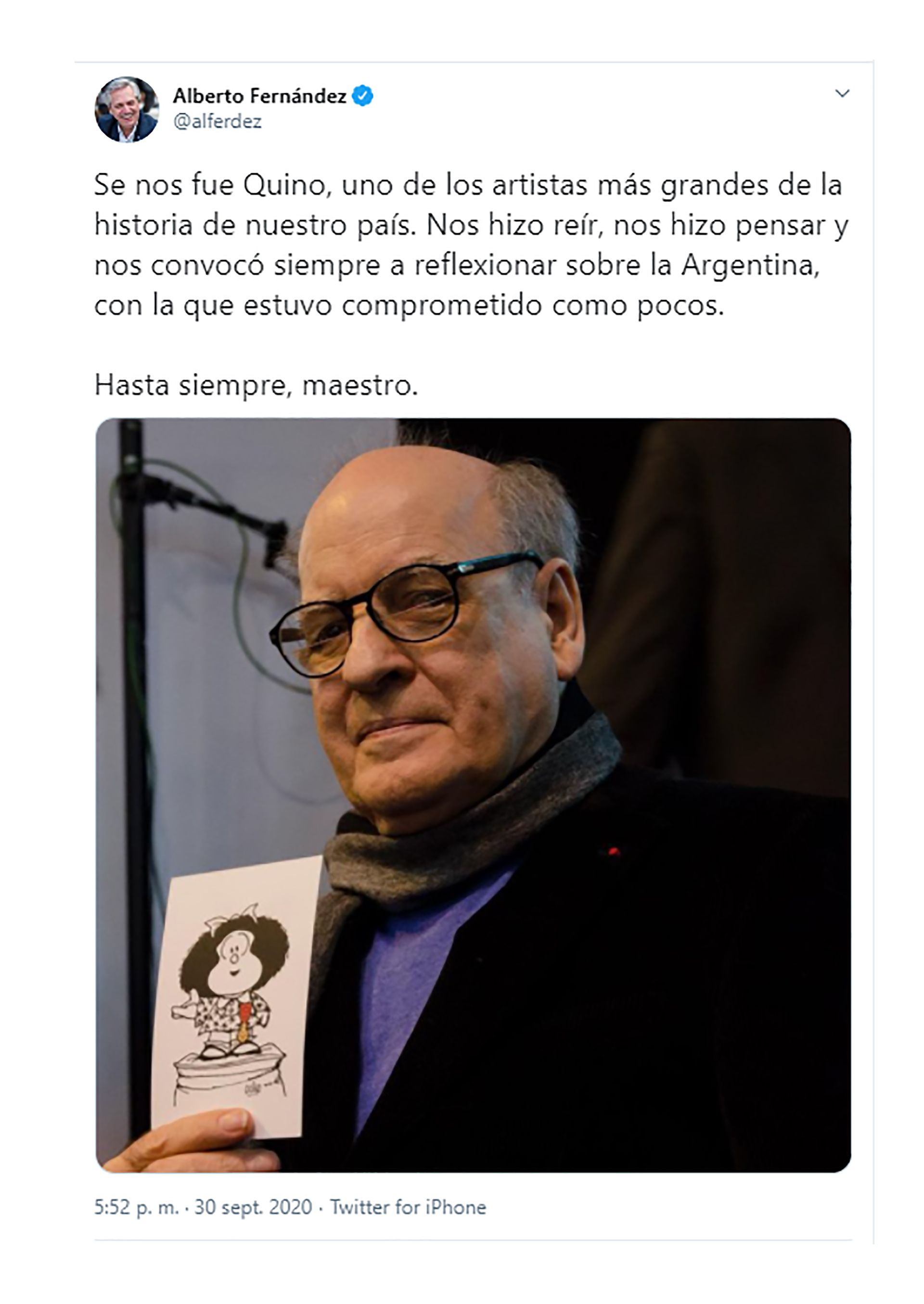 Alberto Fernández Quino