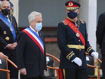 Sebastián Piñera anunció el inicio de un reclamo para ampliar su territorio marítimo