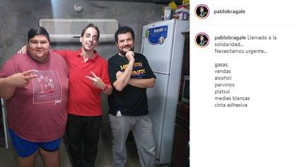 La publicación de Pablo Bragale