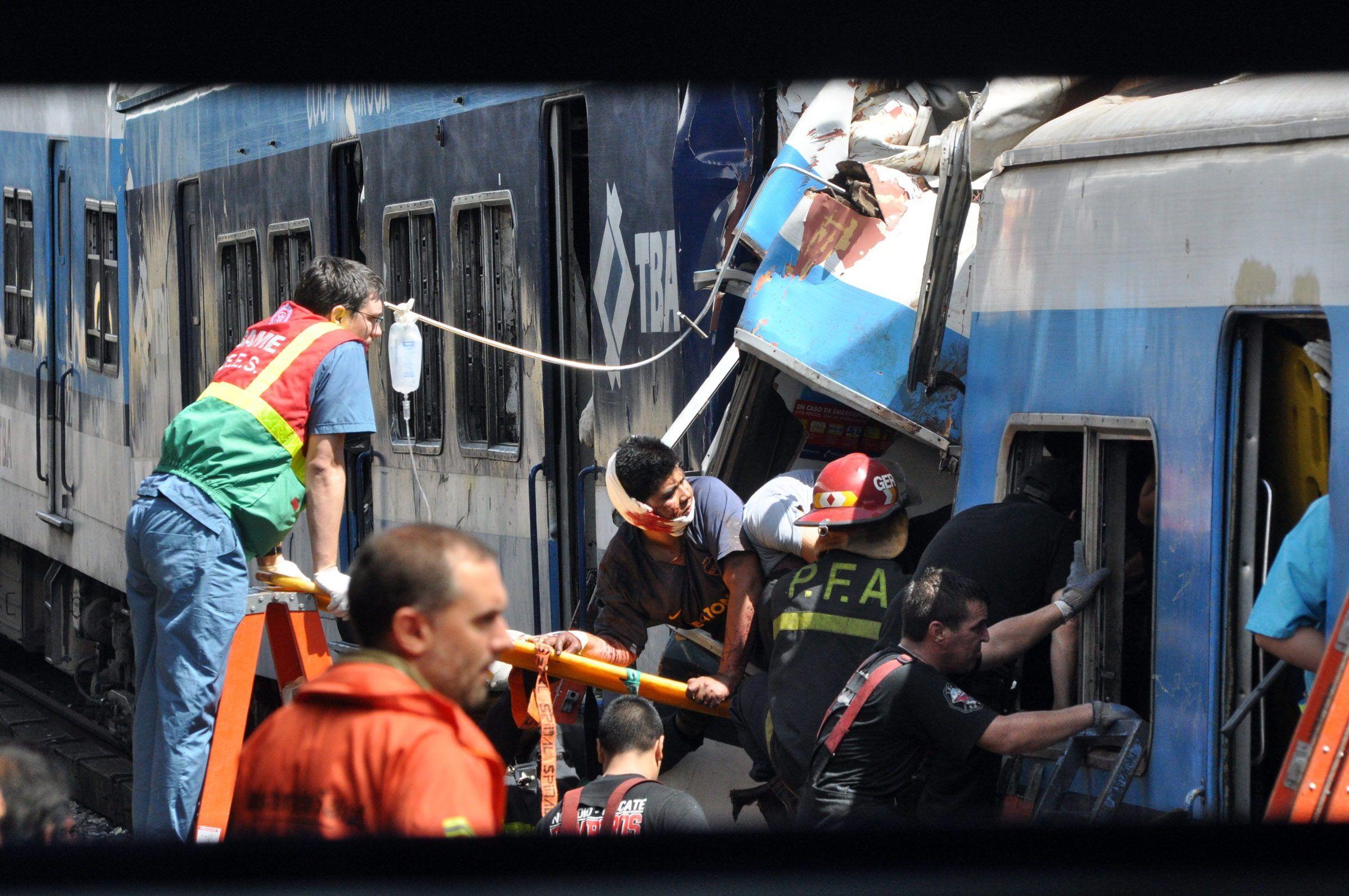 """La """"Tragedia de Once"""", el peor accidente ferroviario de Argentina, sucedió el 22 de febrero de 2012. EFE/Martín Quintana/Archivo"""