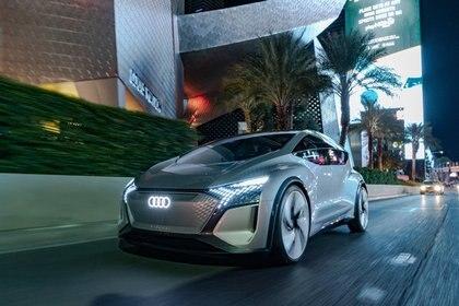 El prototipo Audi AI:ME usa la inteligencia artificial para activar sus comandos con la mirada. (Audi)