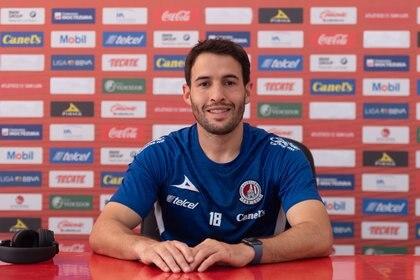 Camilo Mayada quiere repetir sus éxitos con River Plate de Argentina  (Foto: Cortesía/ Atlético de San Luis)