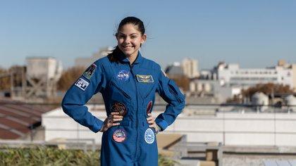 Carson tiene 18 años y desde los 3 sueña con viajar a Marte