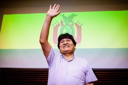 Evo Morales inició el mismo camino que recorrió Nicolás Maduro y Daniel Ortega al ver comprometido su poder (ZUMA PRESS)