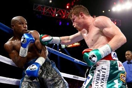 Mayweather se enfrentó a Canelo Álvarez en el 2013 (Foto: Reuters)