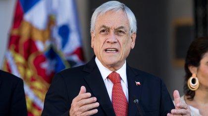 Sebastián Piñera decretó el estado de catástrofe en Chile (AFP)
