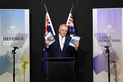 El premier australiano Scott Morrison (Reuters)