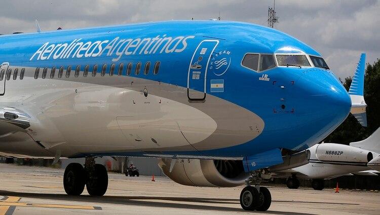 La compañía realiza dos vuelos diarios a Miami, lo que agiliza los envíos (Agustín Marcarian)