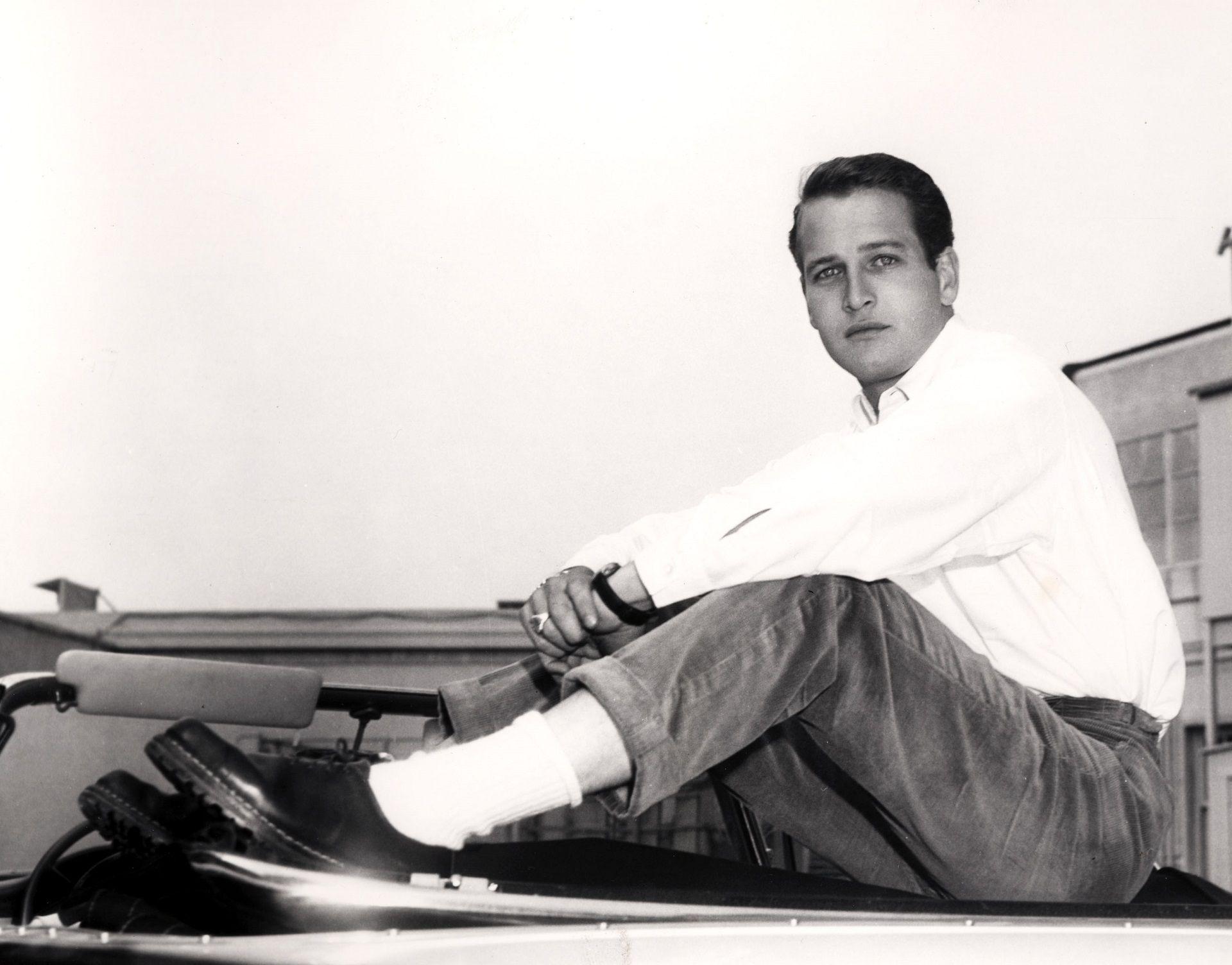 Paul Newman en 1957 (Crédito: Shutterstock)