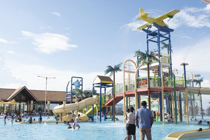La diversión también acompaña ese bello paisaje de Managua