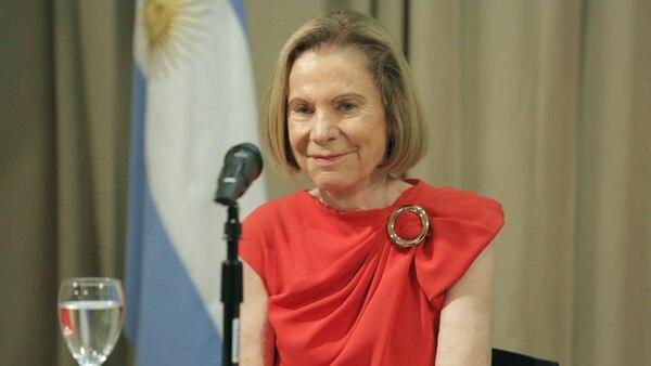 Durante su exposición hizo una defensa del rol de las mujeres dentro del Poder Judicial