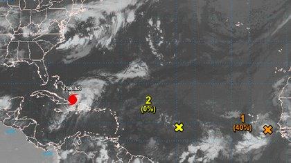 El centro del huracán se desplazará hoy sobre el sur de las Bahamas y esta noche estará cerca de la parte central del archipiélago, para mañana acercarse o pasar sobre el noroeste de Bahamas y la costa este de Florida (NOAA)