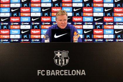 El entrenador explicó una de las situaciones más incómodas del partido contra el PSG (Foto: Barcelona)