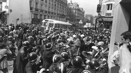 Los enfrentamientos con la Policía, una constante a lo largo del conflicto (Getty)