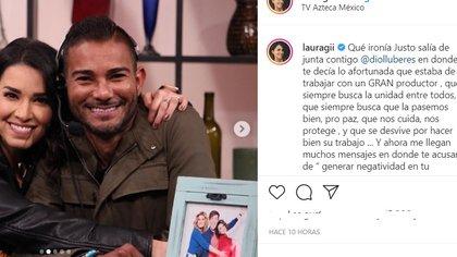 """Laura G compartió en Instagram un mensaje para referirse a las críticas de """"Ventaneando"""""""