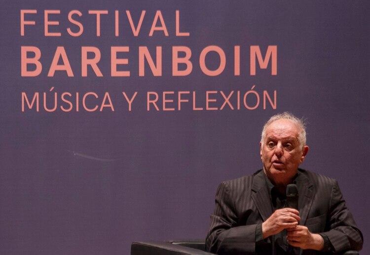 Barenboim expuso su visión sobre el conflicto palestino israelí (Prensa CCK)