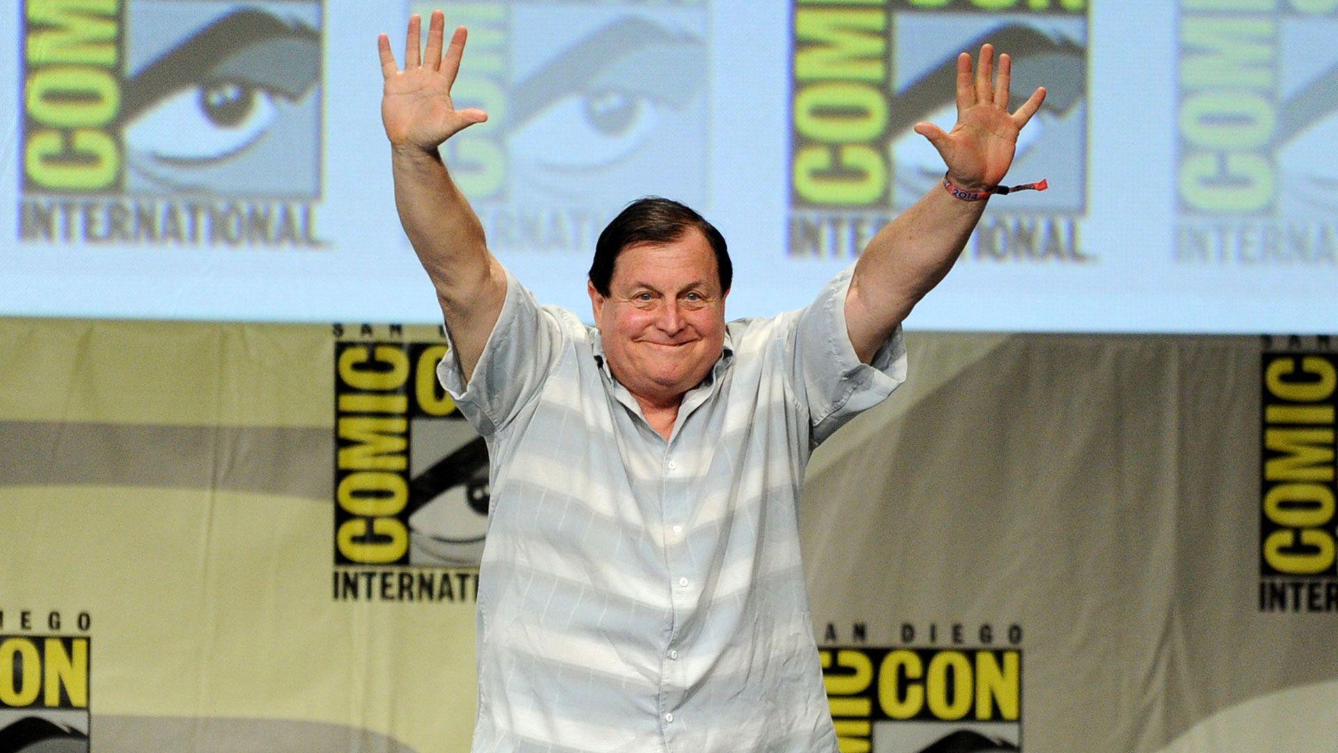 Burt Ward, el único protagonista de la serie Batman que aún vive, en una Comic Con (Getty Images)