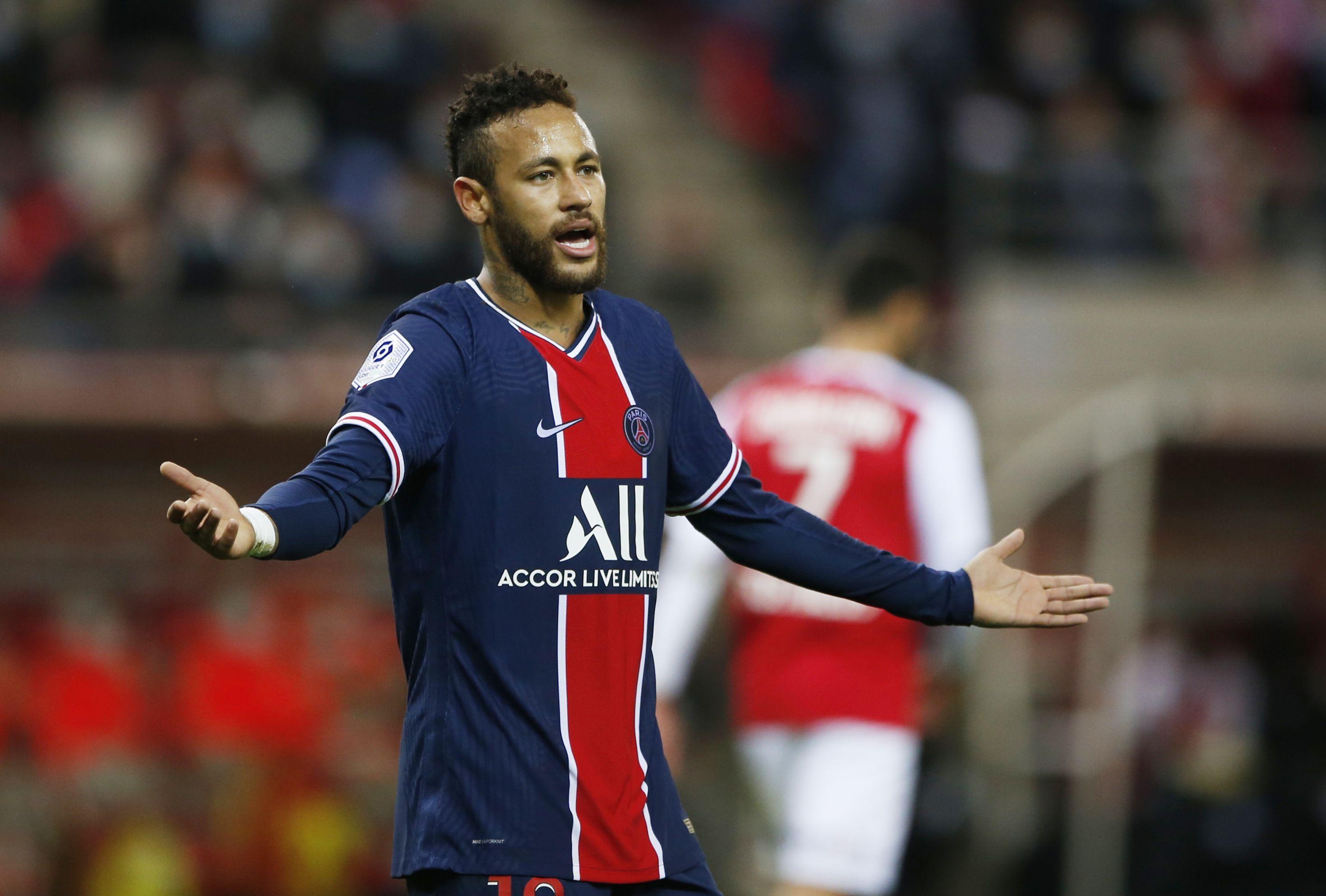 Neymar juega en el Paris Saint-Germain de Francia tras su paso por el Barça(Foto: Pascal Rossignol/ Reuters)