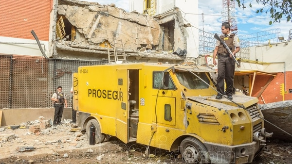 El asalto a la sede de Prosegur en Ciudad del Este fue un golpe impactante
