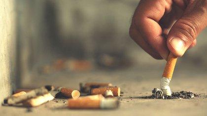 Según datos de Eco House, el 80% de los fumadores tira las colillas al piso