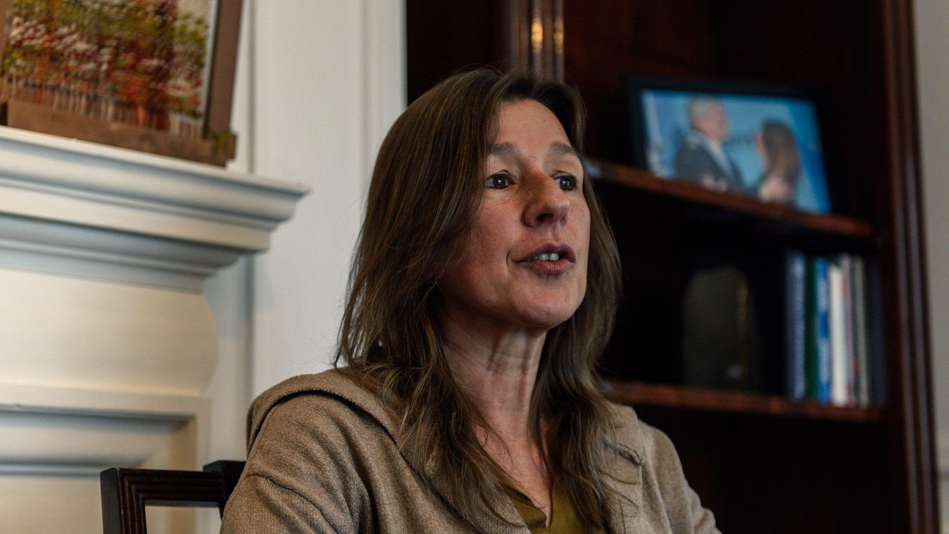 Ministra de seguridad Sabina Frederic