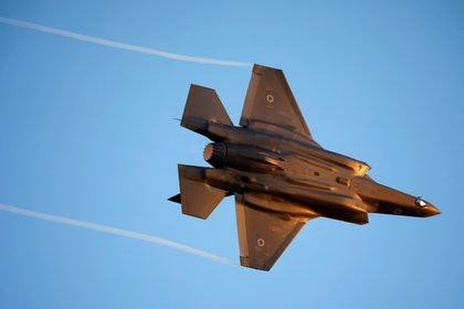 Un caza israelí F-35, vendido por Estados Unidos (Reuters)