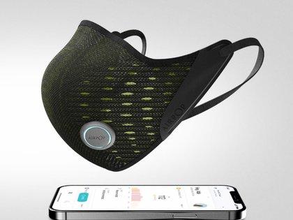 AirPop se conecta al móvil por medio de bluetooth y funciona con una app