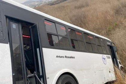 El accidente ocurrió en la avenida García, ubicado a un kilómetro del entronque a Los Valles (Foto: Twitter@andradedaniel18)