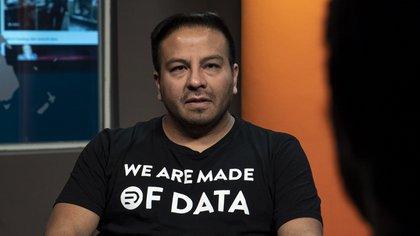 Fredi Vivas, científico de datos (Crédito: Santiago Saferstein)