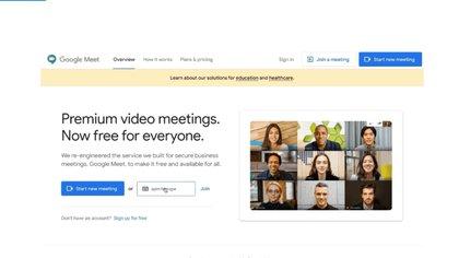 Para acceder a Google Meet se necesita tener una cuenta de Google.