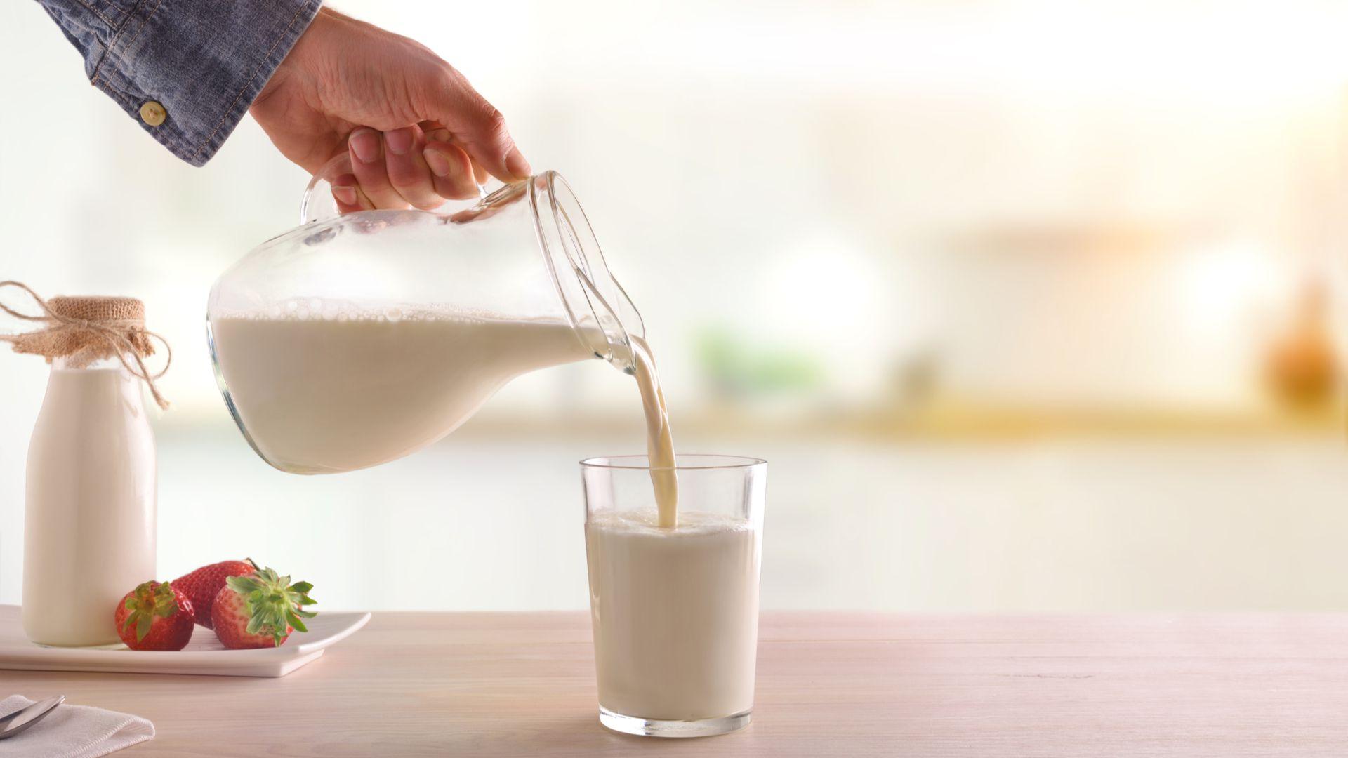 La leche resulta un producto esencial en la mesa de los argentinos (Shutterstock)