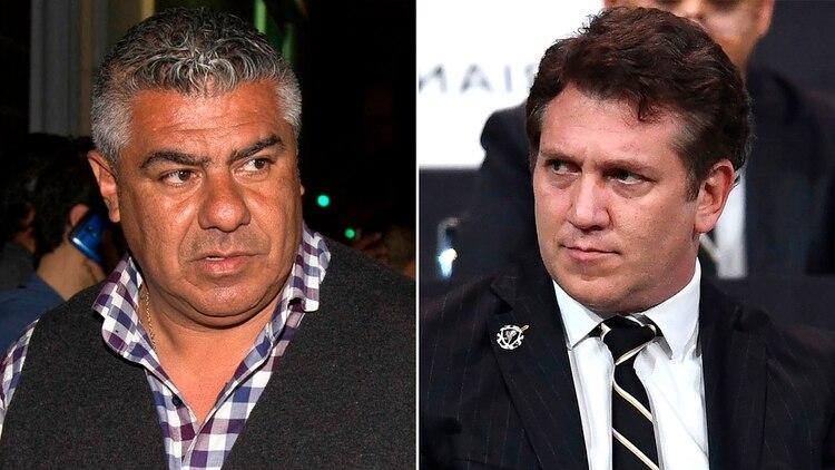 "Claudio ""Chiqui"" Tapia y Alejandro Domínguez"