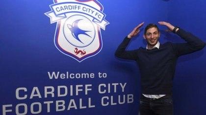 Emiliano Sala es el protagonista del pase más abultado en la historia de Cardiff (Cardiff oficial)