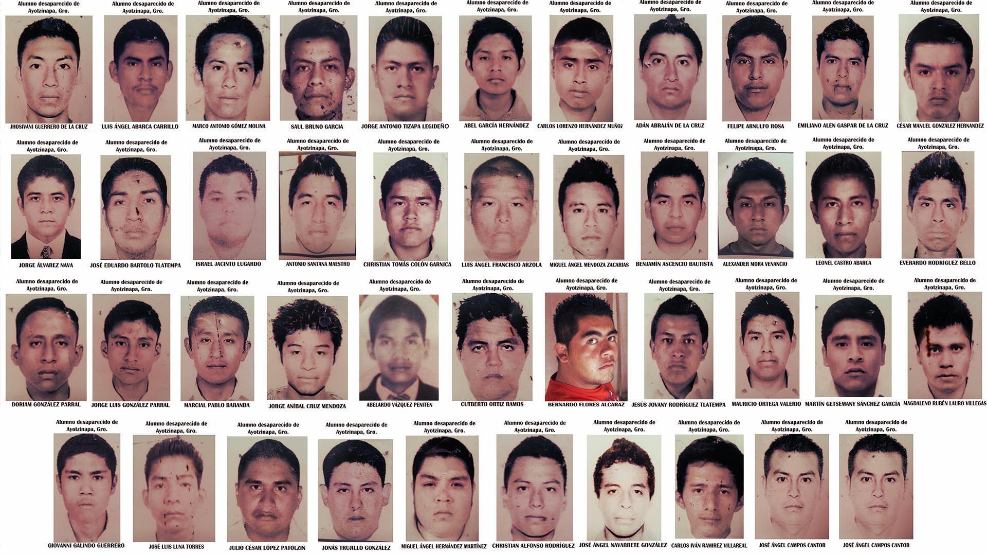 Los estudiantes desaparecieron hace más de 4 años y la duda sigue abierta (Foto: Archivo)