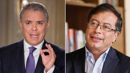 """Gustavo Petro le hace un llamado al presidente Duque para que negocie """"sin trampas"""" con la movilización social"""