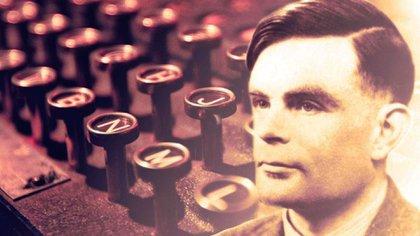 """Alan Turing, conocido como """"el padre de la computación""""."""