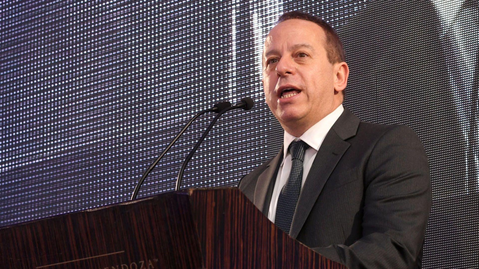 Martín Etchevers, presidente de ADEPA (foto de archivo)