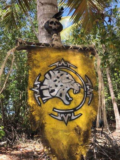 Así luce la bandera de la tribu Jaguares (Foto: Instagram/@survivormexico)