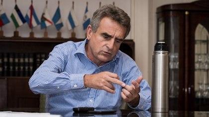 El ministro de Defensa Agustín Rossi