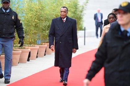 Denis Sassou-Nguesso, presidente de República del Congo