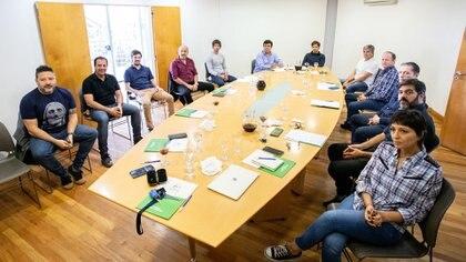 El domingo al mediodía Kicillof se reunió con intendentes del Conurbano del Frente de Todos en Hurlingham