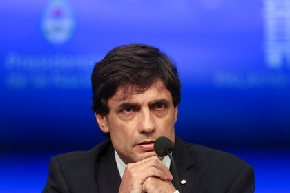 Guzmán reemplazará a Hernán Lacunza (REUTERS/Agustin Marcarian)