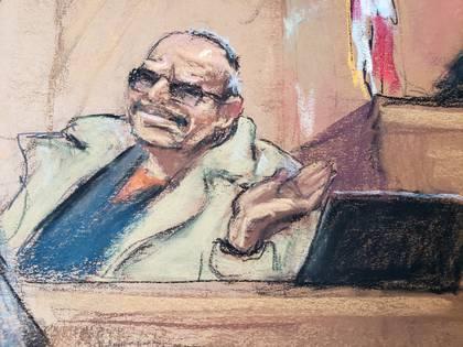 Jesús Zambada es testigo de la Físcalía en el juicio contra Guzmán Loera (Foto: REUTERS/Jane Rosenberg)
