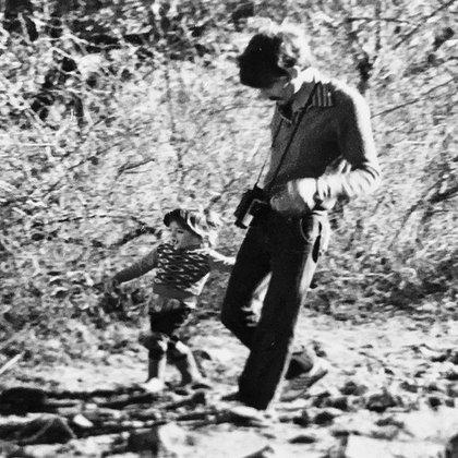 Los primeros pasos de Juan junto a su padre en las sierras de Córdoba