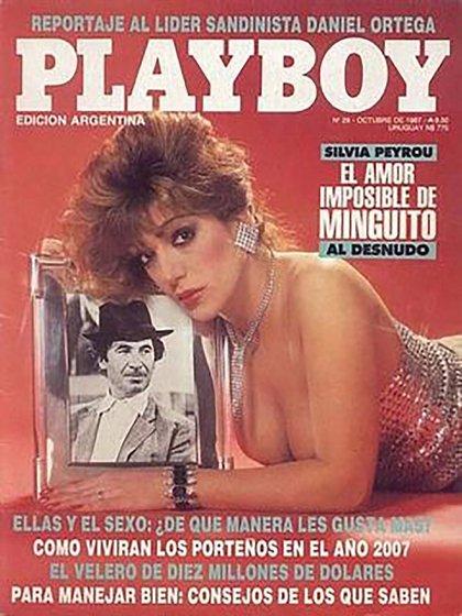 Silvia Peyrou fue una de las más solicitadas durante el destape argentino