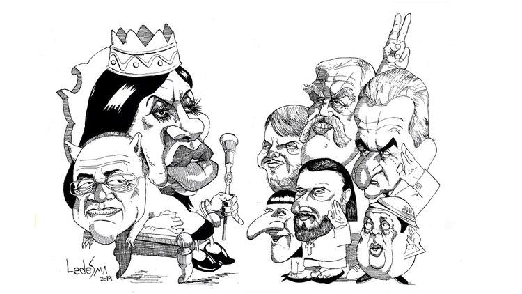 Resultado de imagen para Caricatura de Juan Grabois