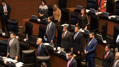 Las sesiones plenarias del Senado se encuentran suspendidas durante la emergencia sanitaria por el coronavirus (Foto: Cuartoscuro)